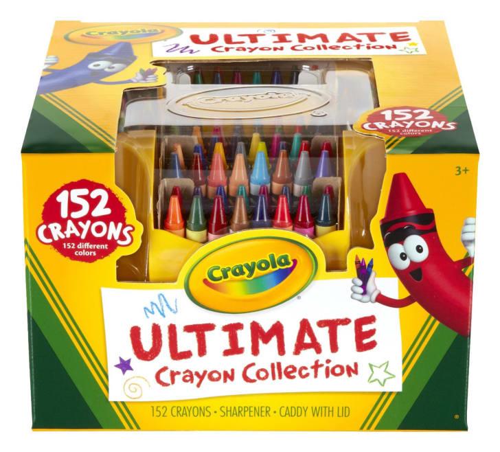box of Crayola crayons