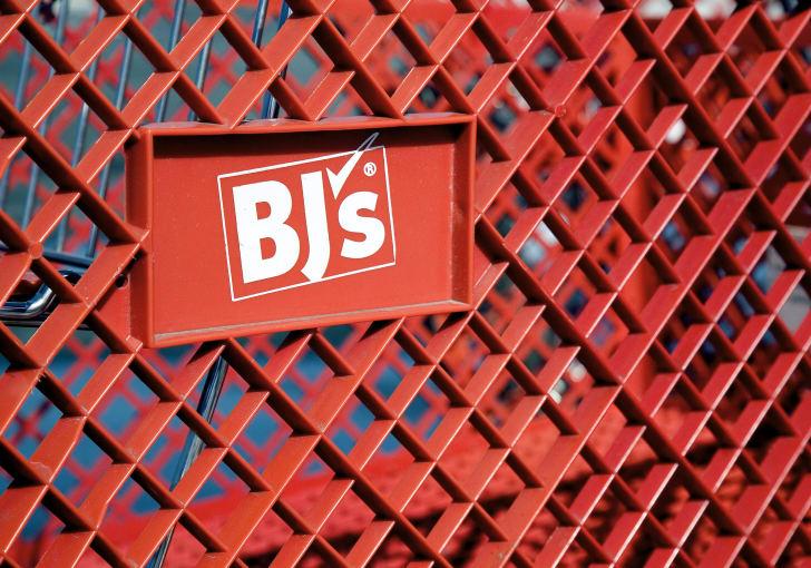 BJ's shopping cart