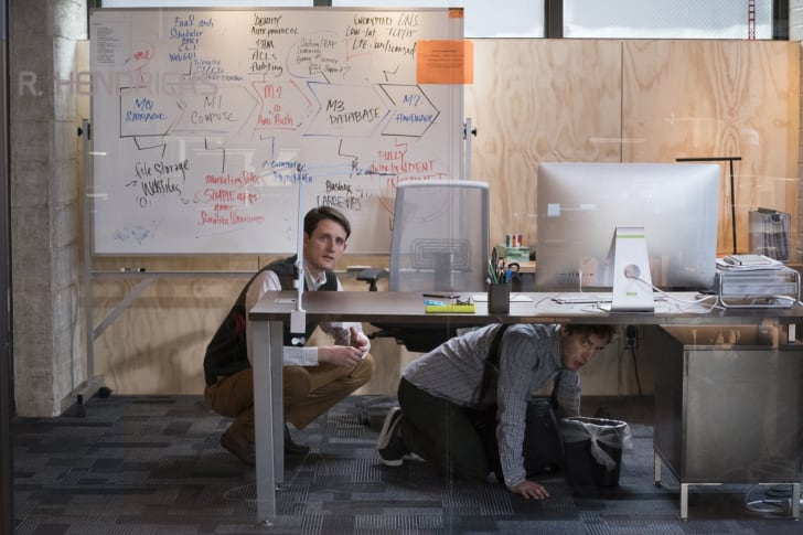 Zach Woods and Thomas Middleditch in 'Silicon Valley'