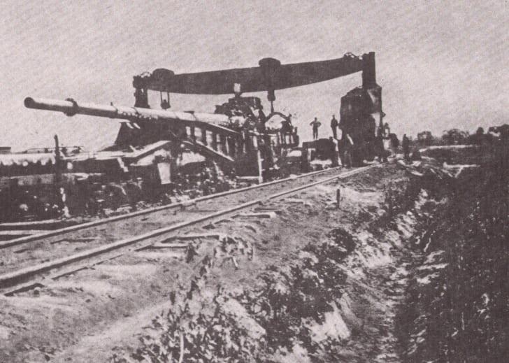 Paris Gun, World War I
