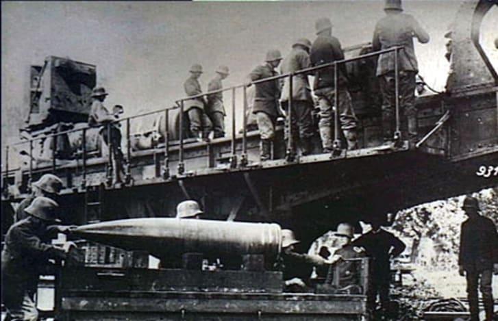 Paris Gun shells, World War I