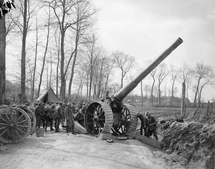 Operation Michael, World War I, 1918