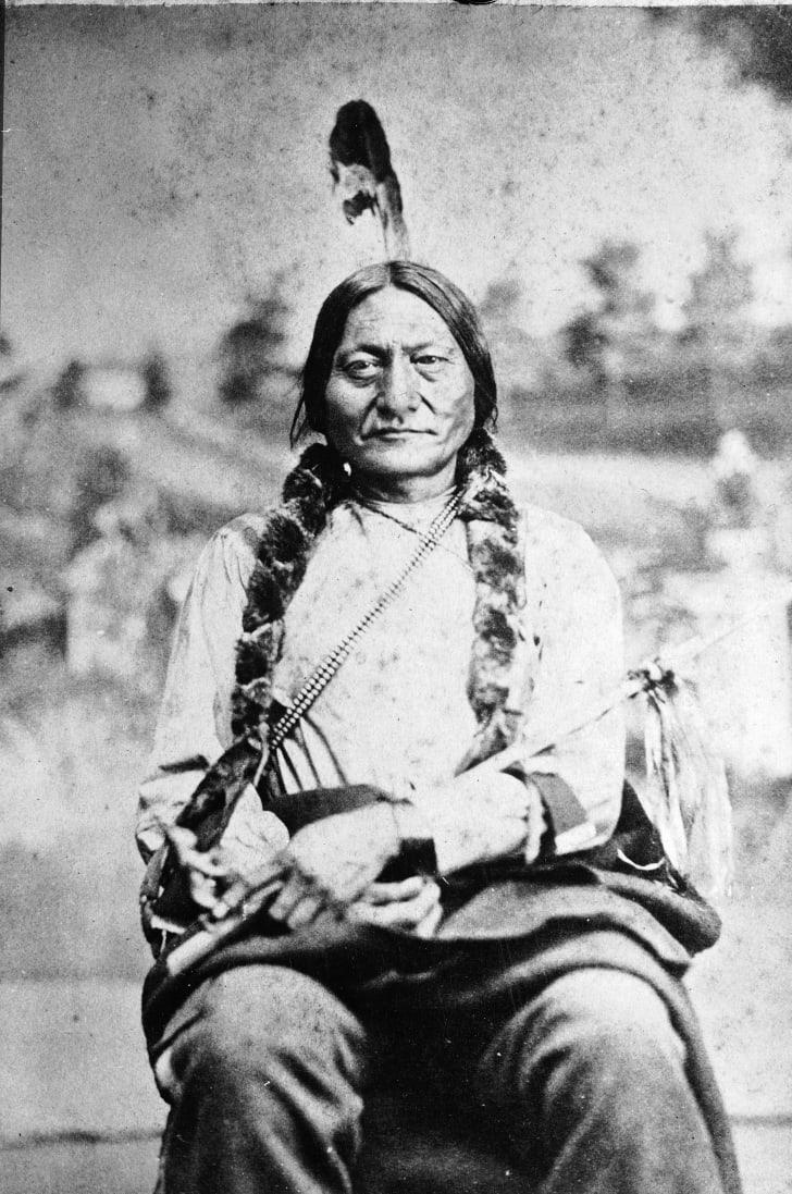 Sitting Bull, 1881