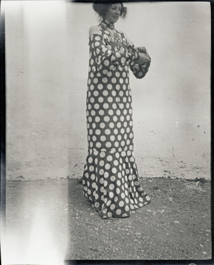 Emilie Floege In A Reform Dress.