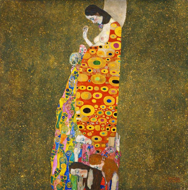 Hope, II by Gustav Klimt