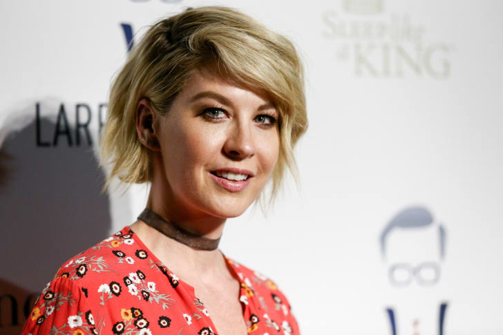 Actor Jenna Elfman attends Larry King's 60th Broadcasting Anniversary Event at HYDE Sunset: Kitchen + Cocktails on May 1, 2017 in West Hollywood, California