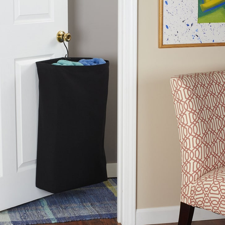 Hanging Cotton Canvas Laundry Hamper