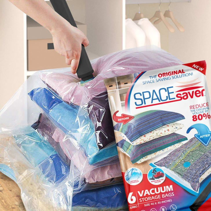 SpaceSaver Premium Reusable Vacuum Storage Bags