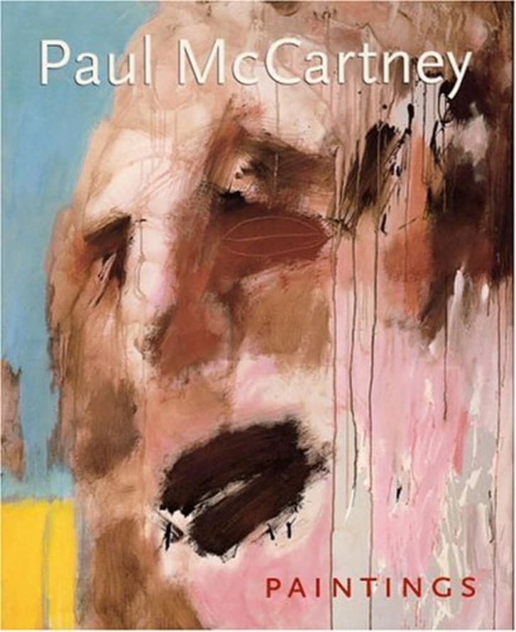 A book of Paul McCartney's Painting