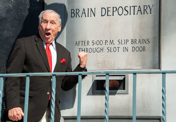 Mel Brooks attends a 'Young Frankenstein' 40th anniversary celebration