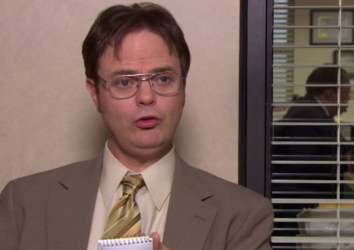 Rainn Wilson in 'The Office'