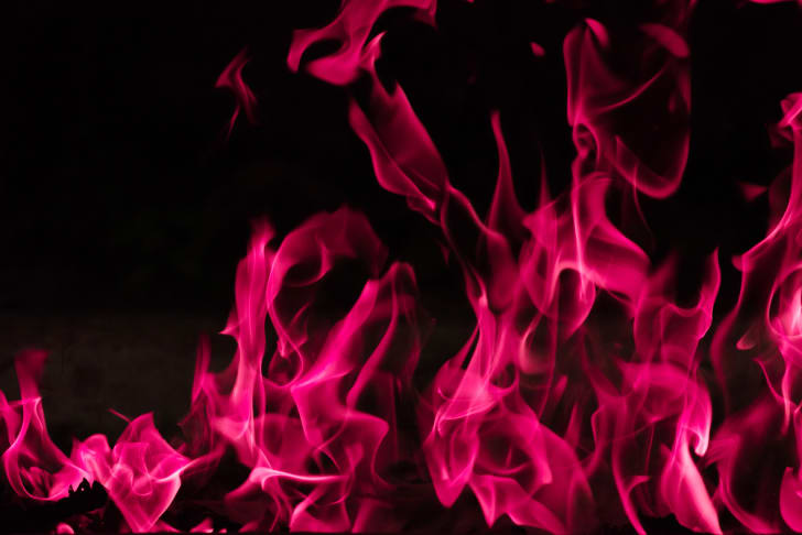crimson flames