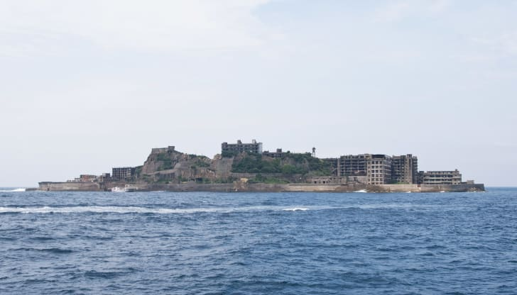 Battleship Island (Nashima Island), Japan