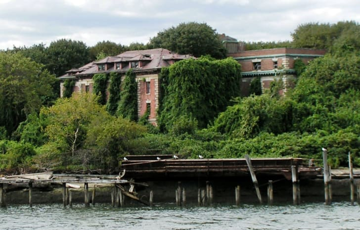 North Brother Island, New York City