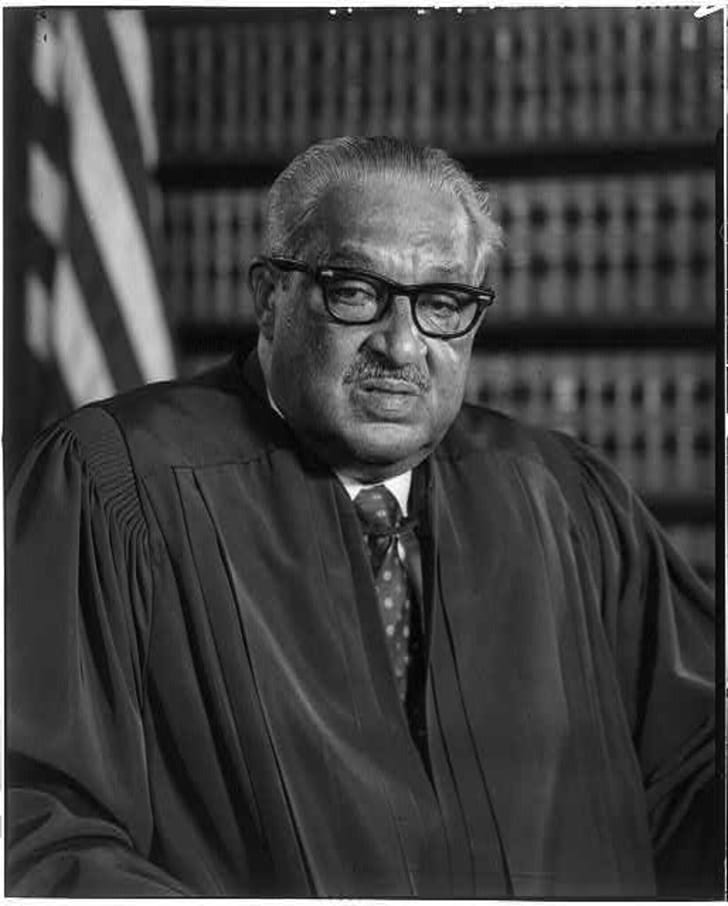 Official Surpreme Court photo of Thurgood Marshall