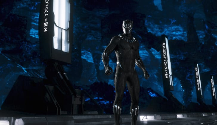 Chadwick Boseman in 'Black Panther' (2018)