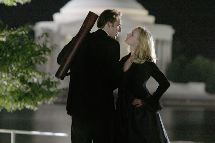 Nicolas Cage and Diane Kruger in 'National Treasure' (2004)