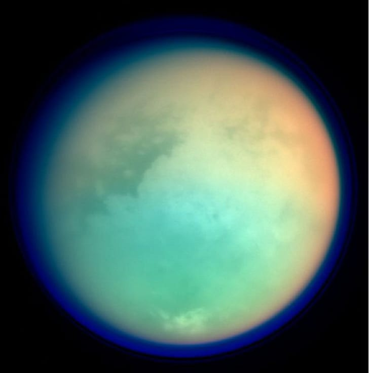 Saturn's moon, Titan.