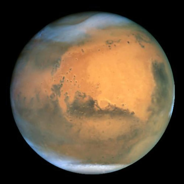 NASA's Earth-orbiting Hubble Space Telescope took this picture June 26, 2003 of Mars.