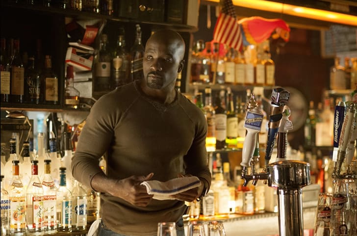 Mike Colter as Luke Cage in 'Jessica Jones'