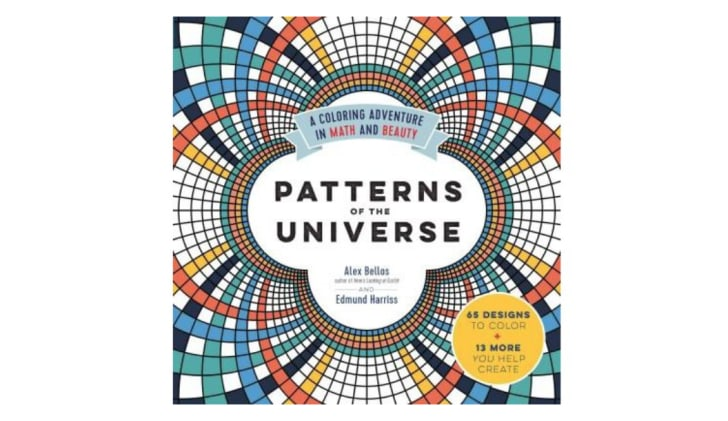 Patterns of the Universe adult coloring book