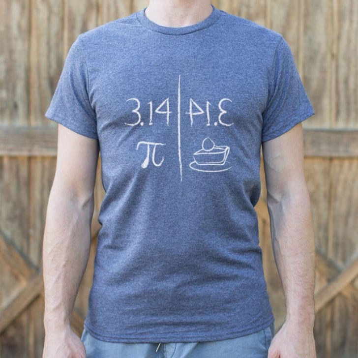 Pi Mirrors Pie T-shirt