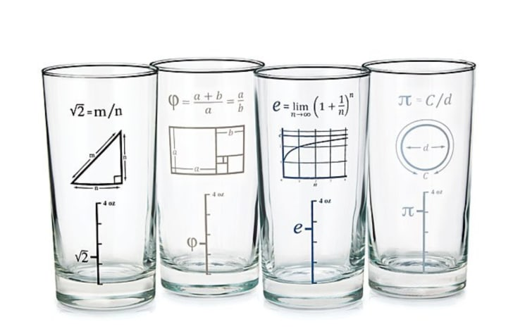 Mathematical glasses.