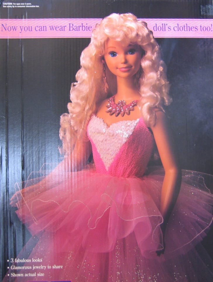 My Size Barbie from 1992