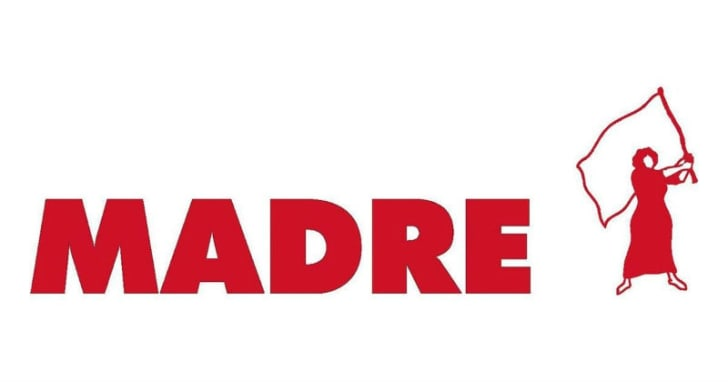 The MADRE logo