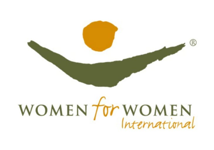 The Women for Women International logo