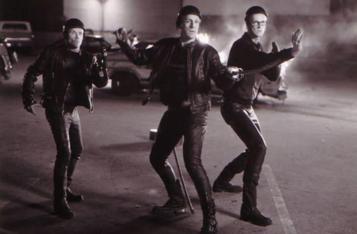 Peter Stormare, Flea, and Torsten Voges in The Big Lebowski (1998)