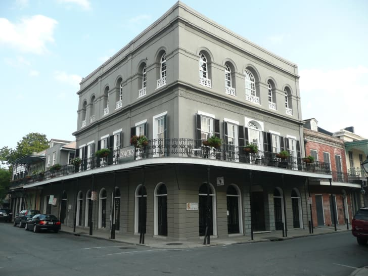The LaLaurie Mansion in New Orleans