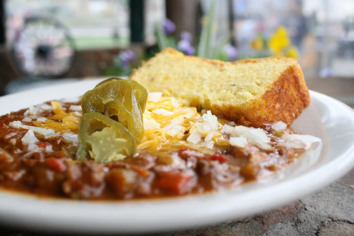 The Shady Grove's Roasted Vegetable Chili