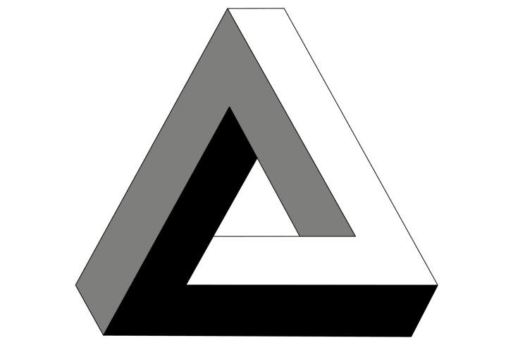 A Penrose triangle