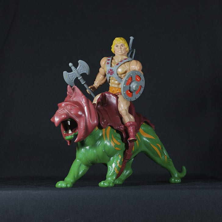 Picture of a He-Man toy