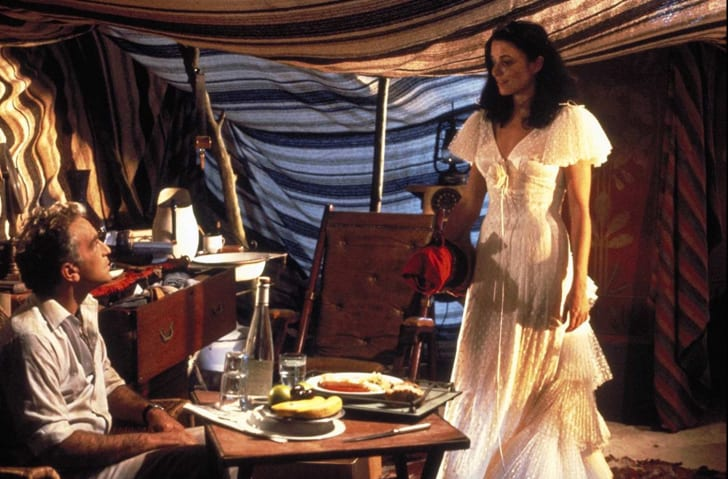 Karen Allen and Paul Freeman in Raiders of the Lost Ark (1981)
