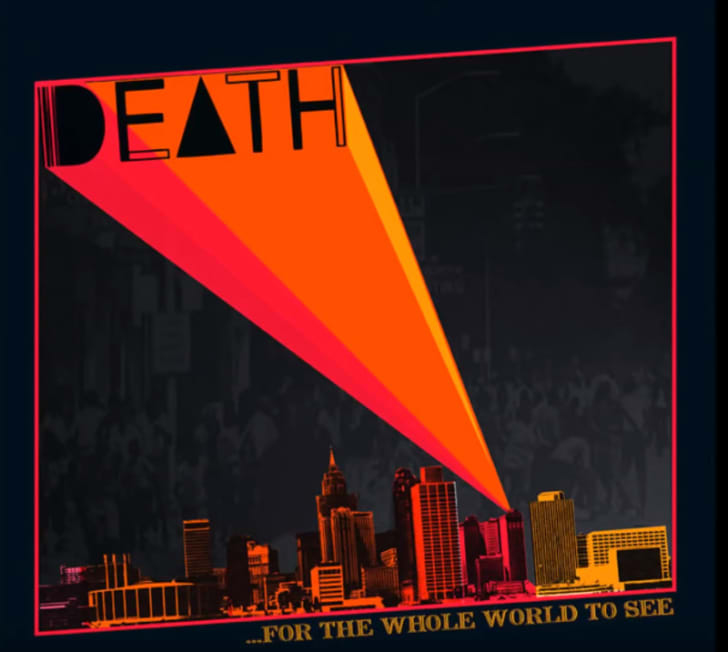 Cover art for the Death album