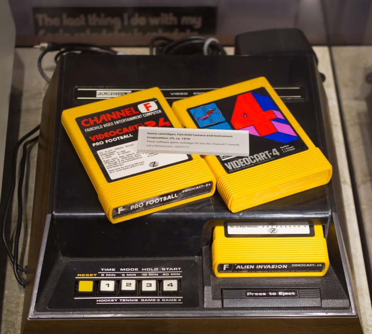 A picture of the Fairchild Channel F