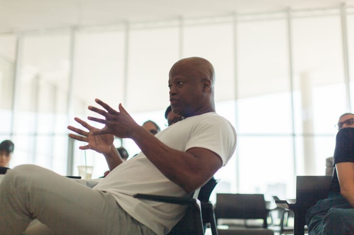 Picture of chess champion Maurice Ashley