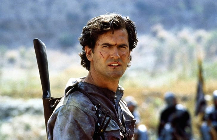 Bruce Campbell stars in 'Army of Darkness' (1992)