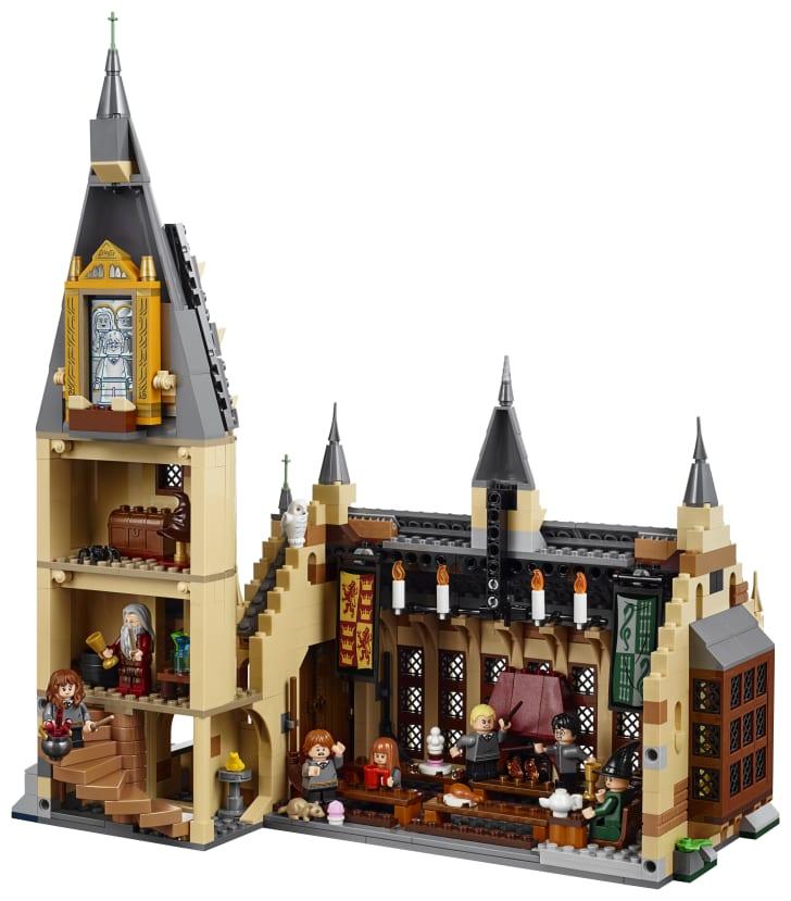LEGO set of Hogwarts.