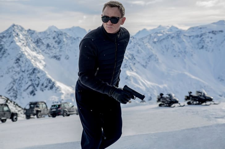 Daniel Craig stars at James Bond in 'Spectre' (2015)