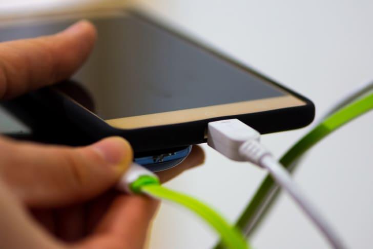 charging phones