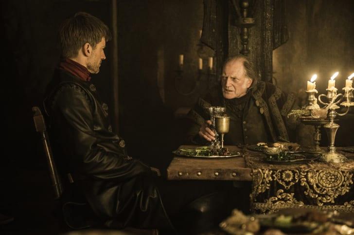Nikolaj Coster-Waldau, David Bradley in Game of Thrones