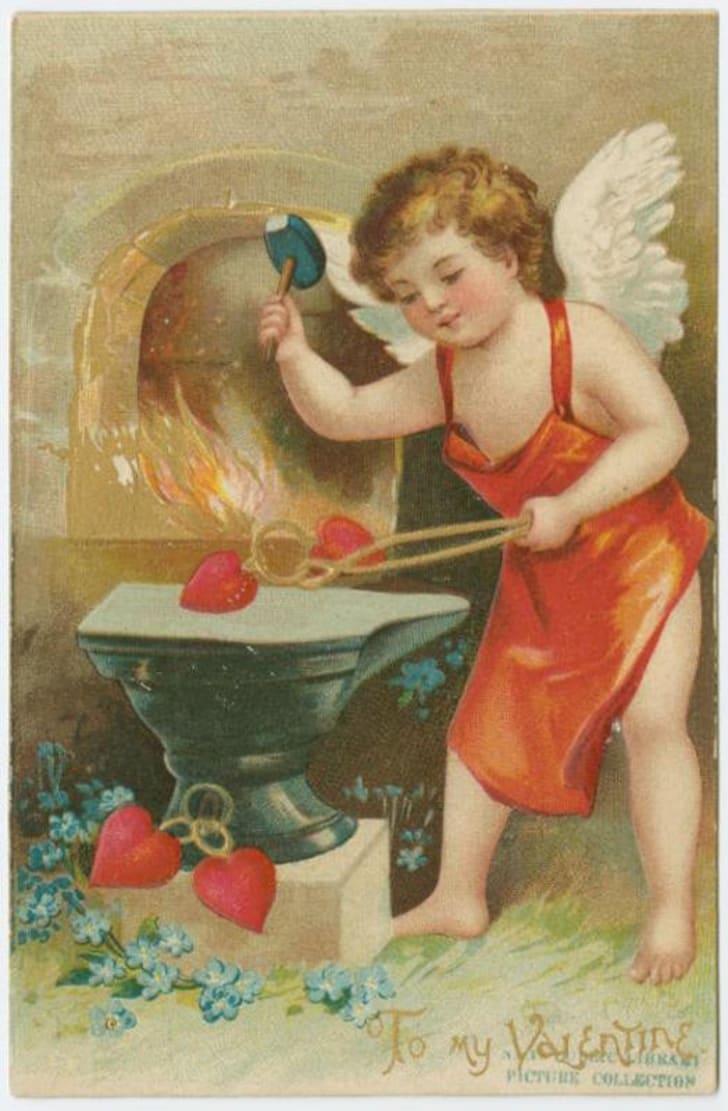 vintage Valentine circa 1908
