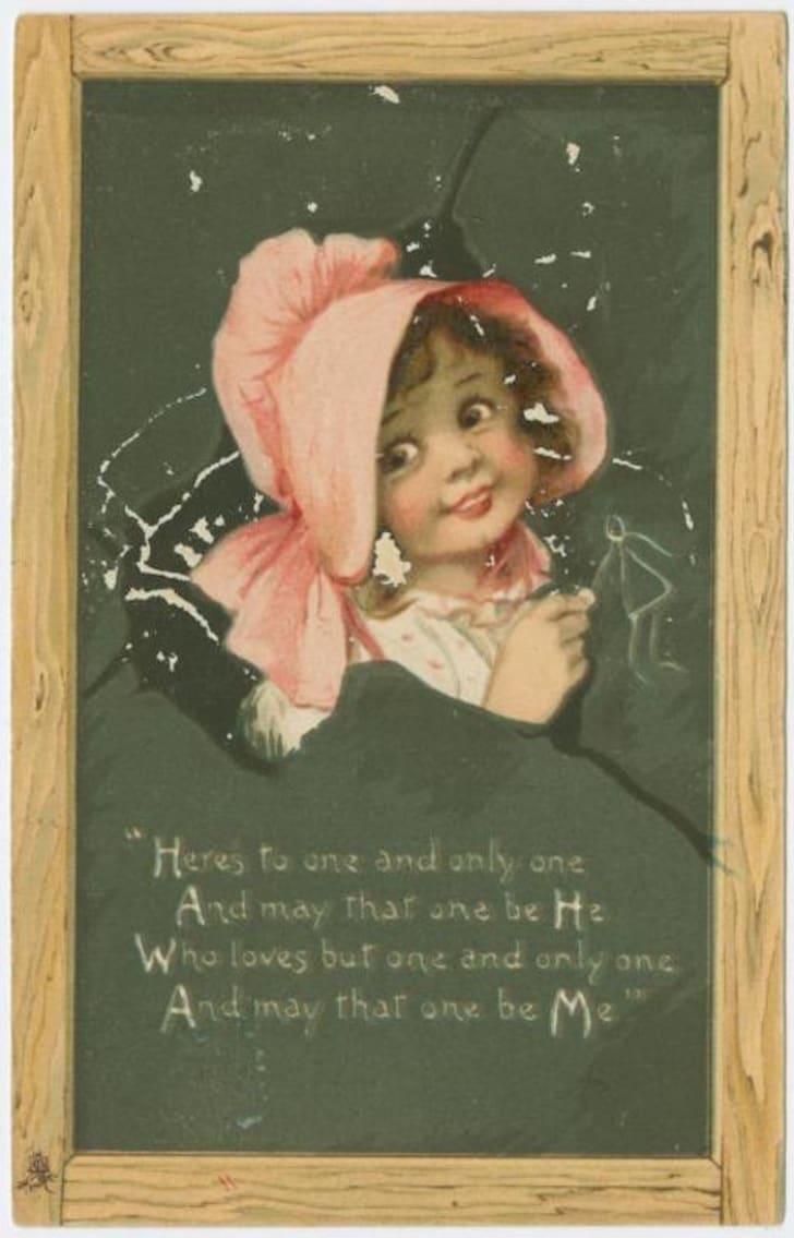 vintage Valentine circa 1907