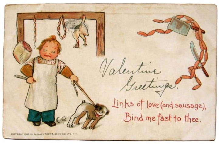 vintage valentine circa 1903