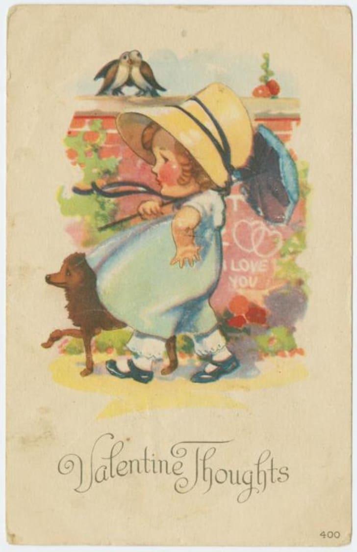 vintage Valentine circa 1921
