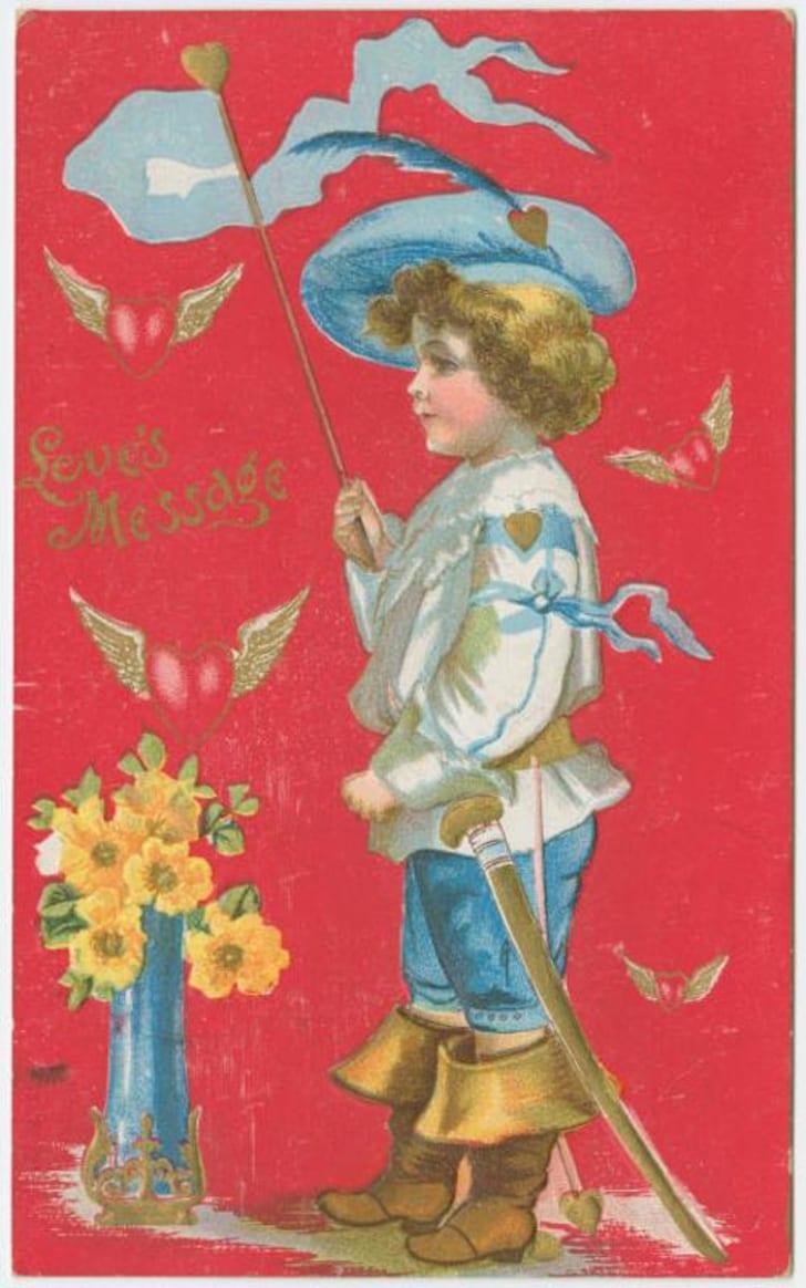 vintage Valentine circa 1910