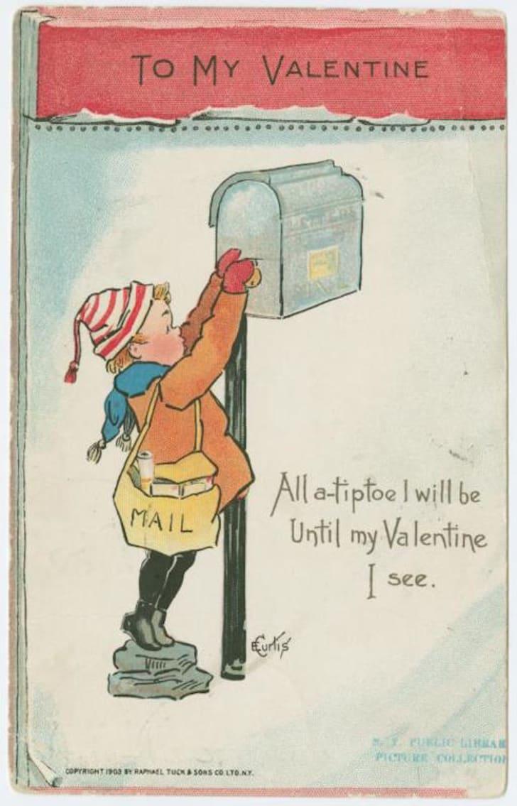 vintage Valentine circa 1904